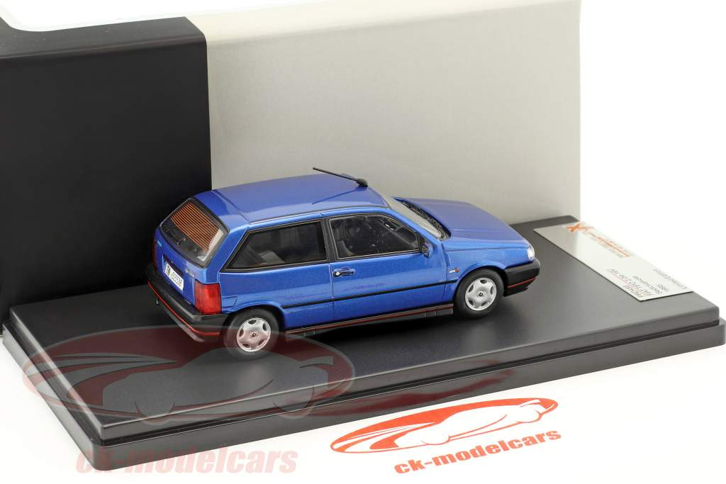 Fiat Tipo 2.0ie 16V Sedicivalvole anno 1995 blu 1:43 Premium X