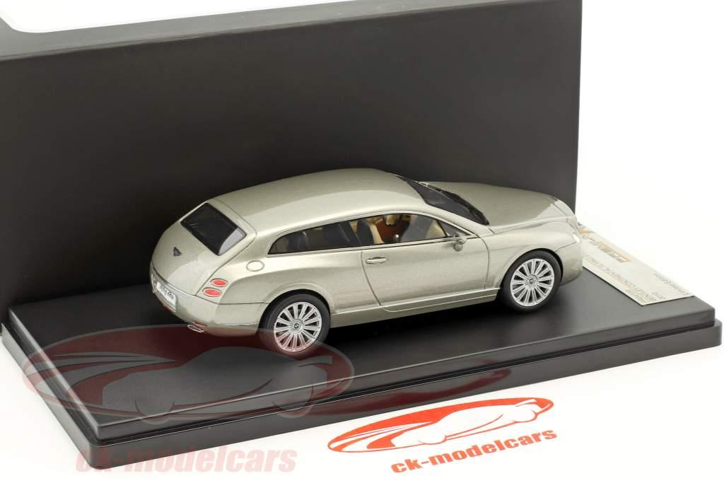 Bentley Continental Flying Star Baujahr 2010 grau metallic 1:43 Premium X