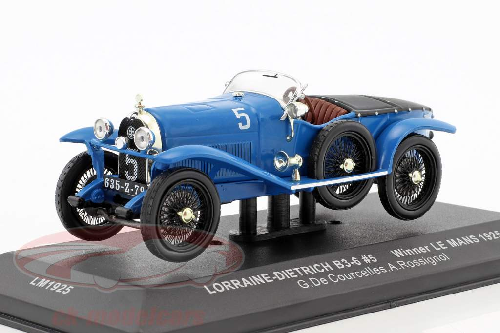 Lorraine-Dietrich B3-6 #5 Le Mans 1925 1:43 Ixo LM1925