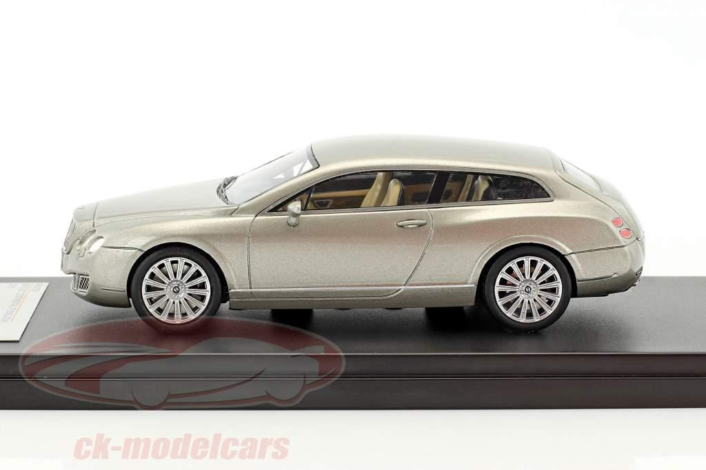 Bentley Continental Flying Star year 2010 grey metallic 1:43 Premium X
