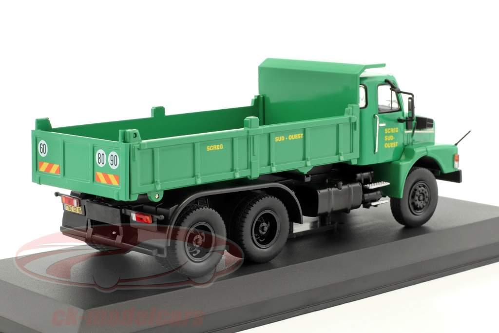 Volvo N10 cumulo di rifiuti camion SCREG anno di costruzione 1980 verde 1:43 Ixo