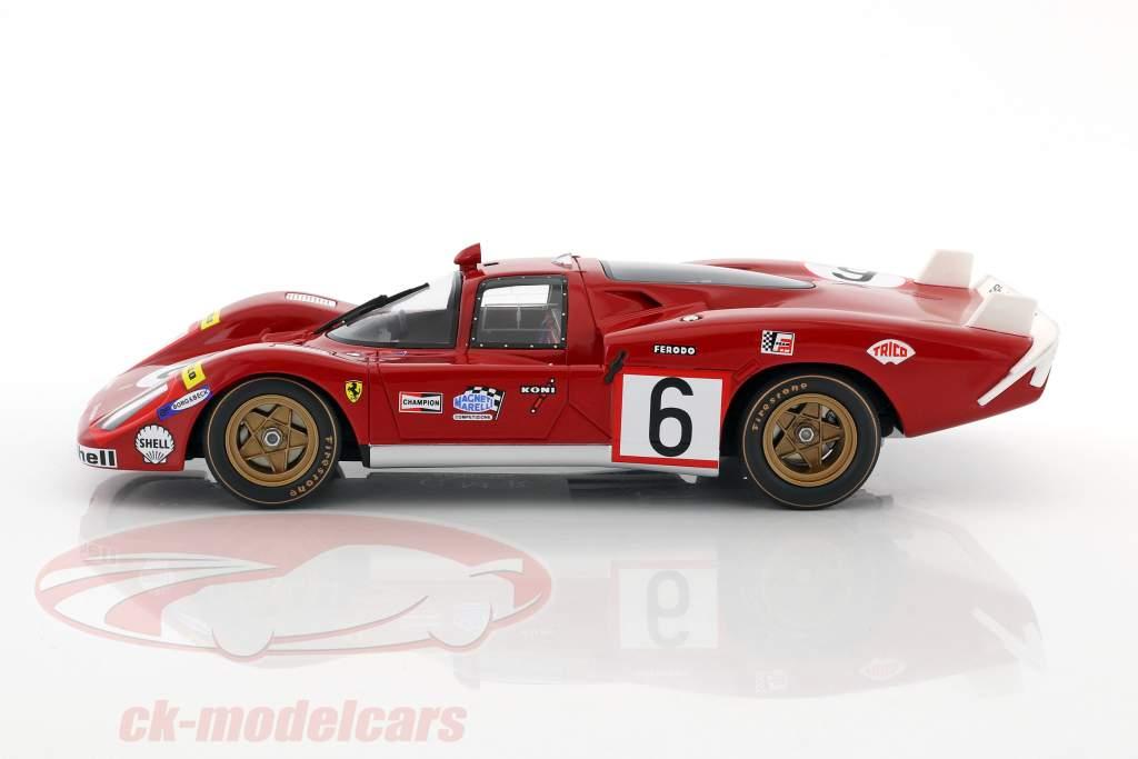 Ferrari 512S Long Tail #6 24h LeMans 1970 Vaccarella, Giunti 1:18 CMR