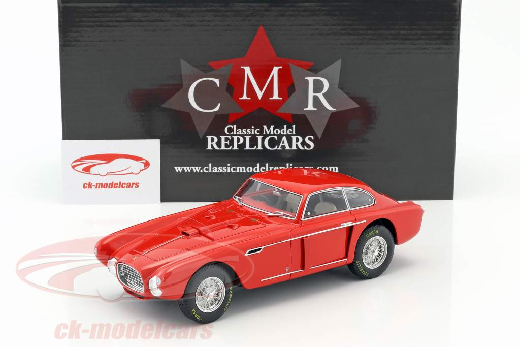 Ferrari 340 Berlinetta Mexico 1952 red 1:18 CMR