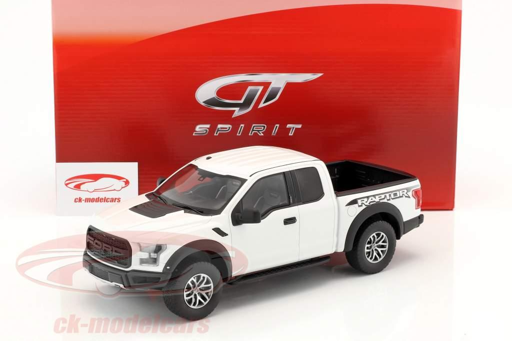 Ford F150 Raptor anno di costruzione 2016 Oxford bianco 1:18 GT-Spirit