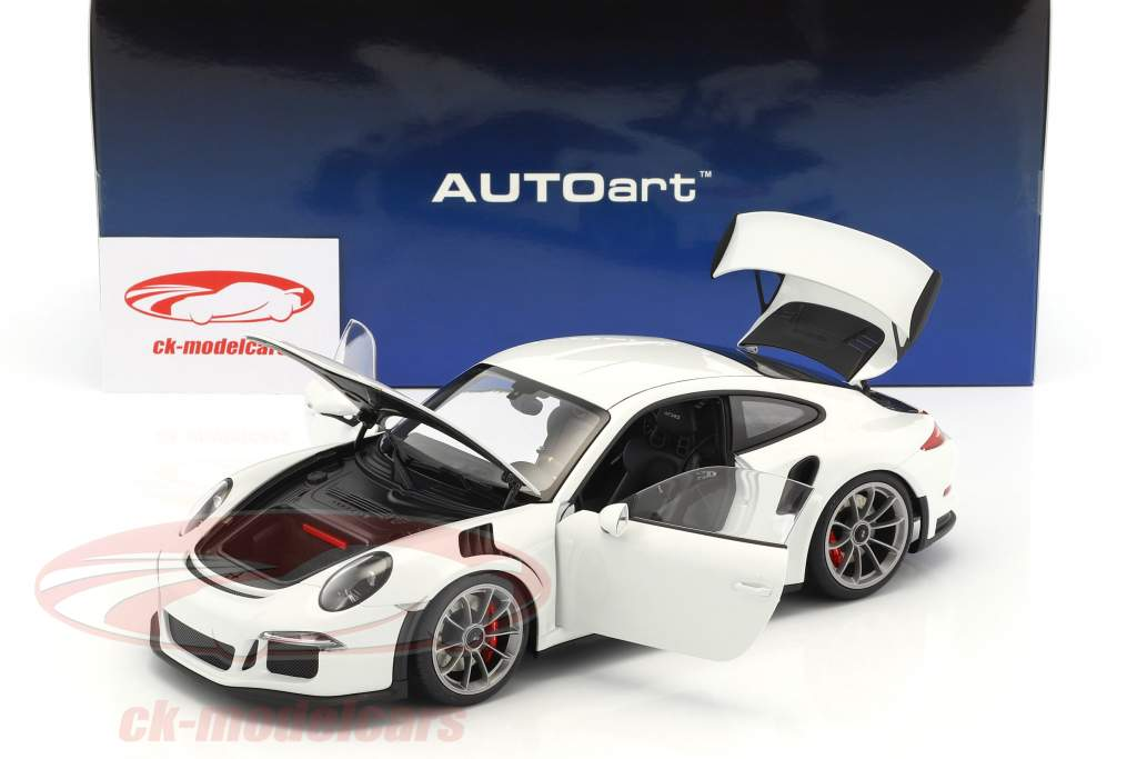 Porsche 911 (991) GT3 RS année de construction 2016 blanc 1:18 AUTOart