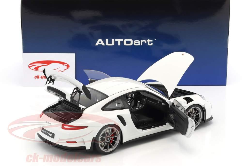 Porsche 911 (991) GT3 RS Baujahr 2016 weiß 1:18 AUTOart