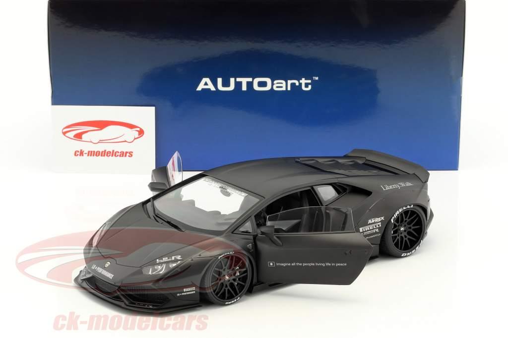 Lamborghini Huracan Liberty Walk LB-Works mat black 1:18 AUTOart