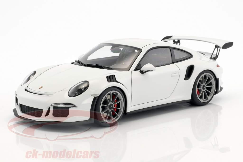 Porsche 911 (991) GT3 RS anno di costruzione 2016 bianco 1:18 AUTOart