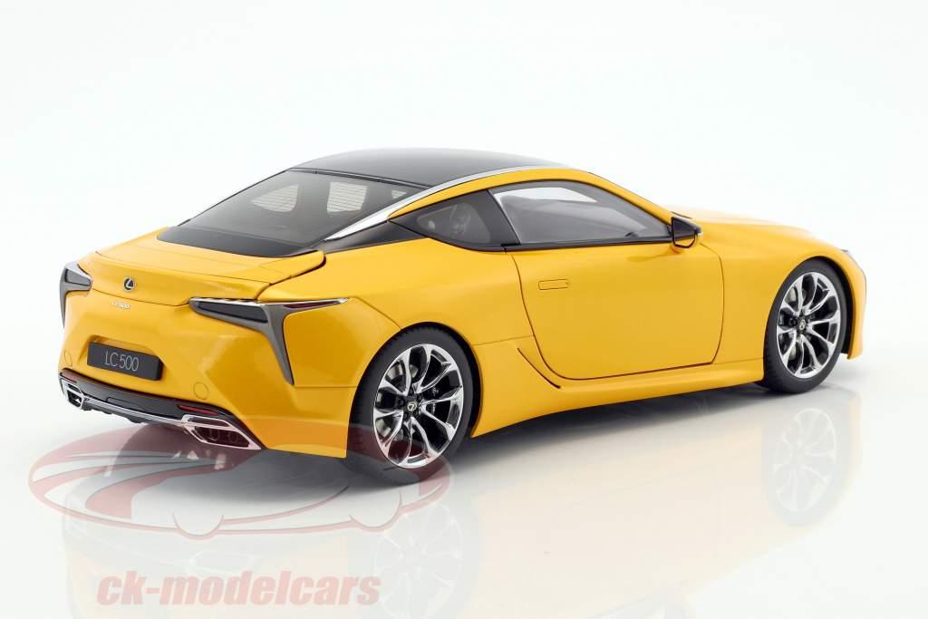 Lexus LC 500 jaune métallique 1:18 AUTOart
