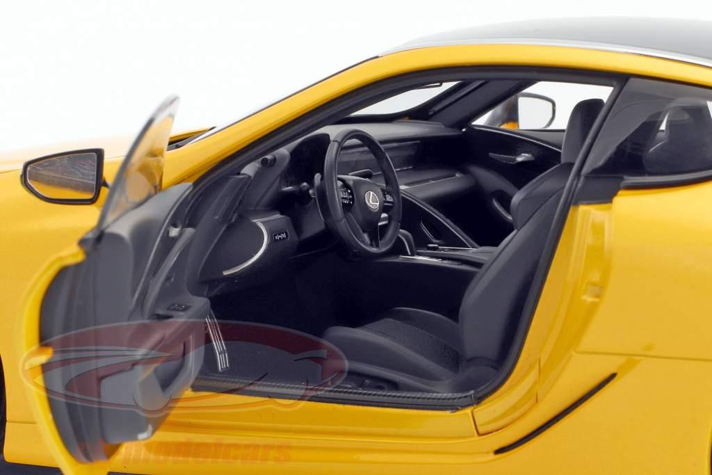 Lexus LC 500 gelb metallic 1:18 AUTOart