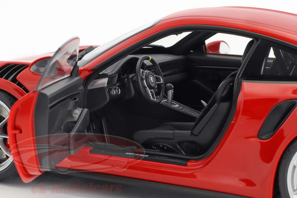 Porsche 911 (991) GT3 RS anno di costruzione 2016 rosso con argento ruote 1:18 AUTOart