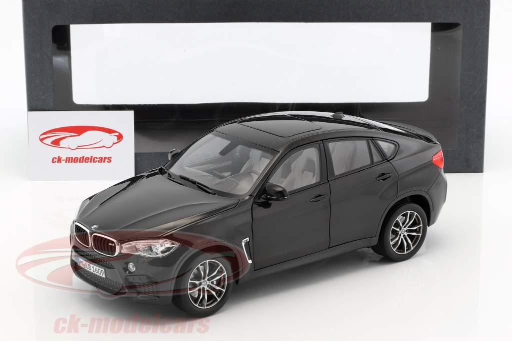 BMW X6 M (F86) sapphire black metallic 1:18 Norev