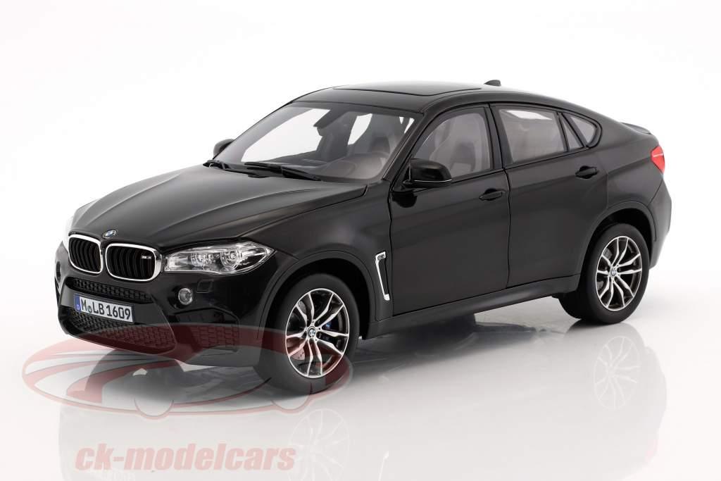 BMW X6 M (F86) Sapphire negro metálico 1:18 Norev