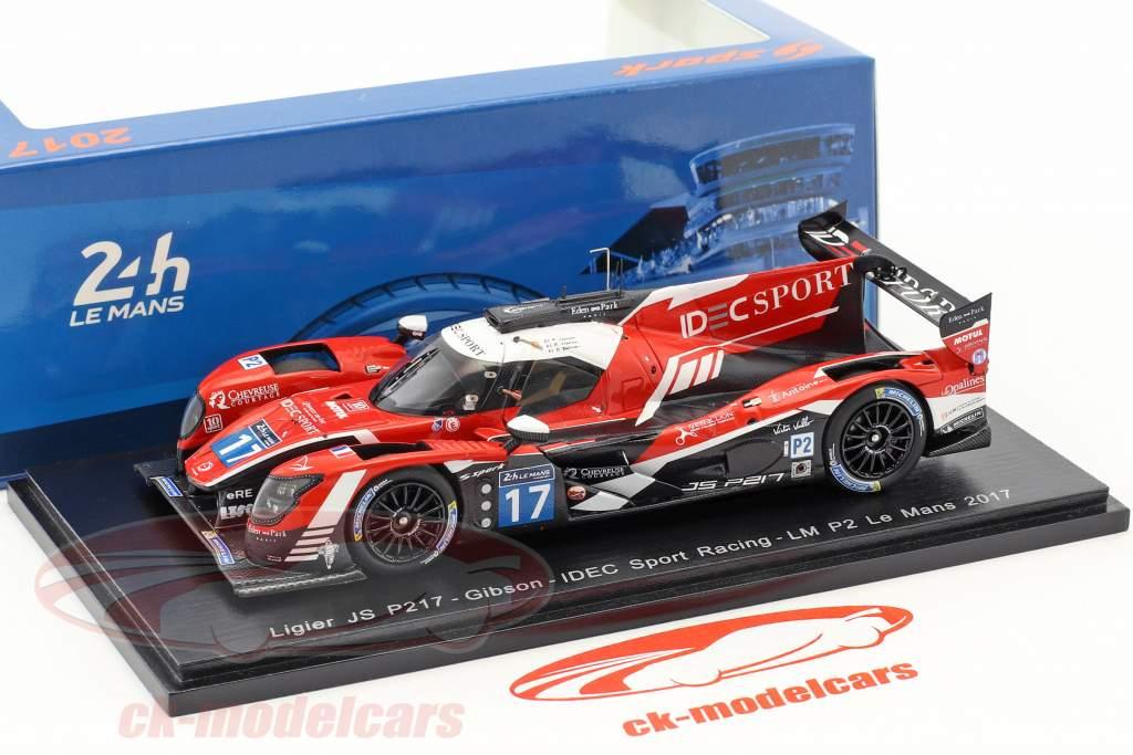 Ligier JS P217 #17 24h LeMans 2017 P. Lafargue, P. Lafargue, Zollinger 1:43 Spark