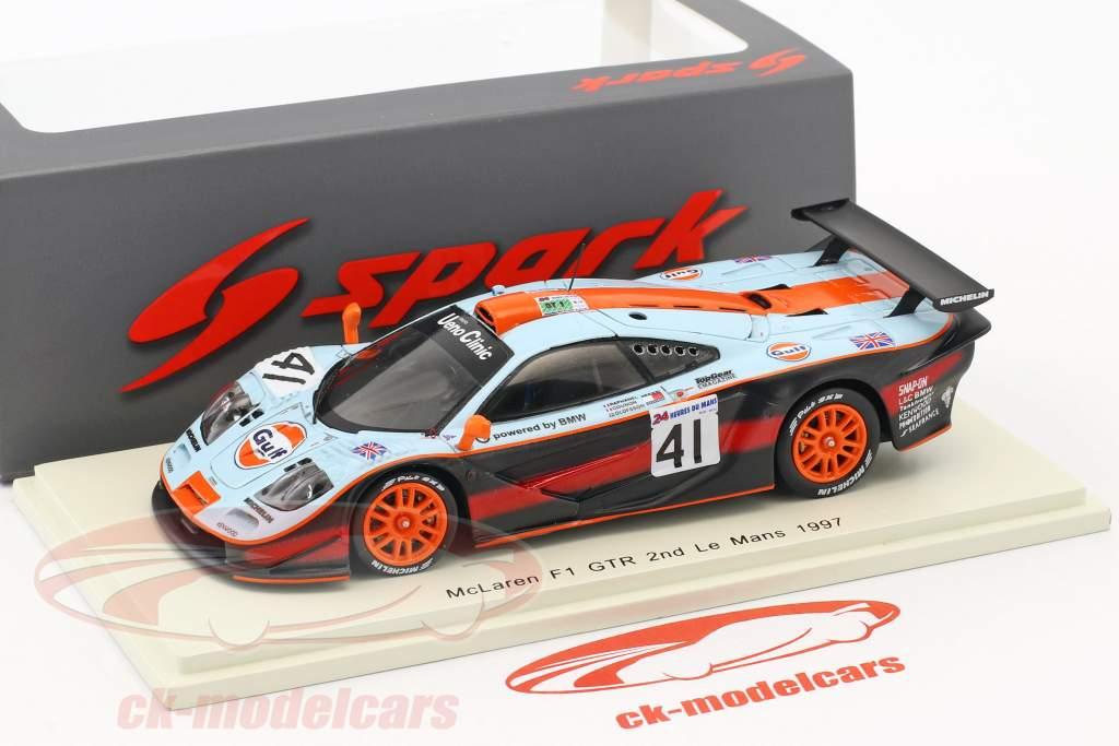 McLaren F1 GTR #41 2 ° 24h LeMans 1997 Gounon, Raphanel, Olofsson 1:43 Spark