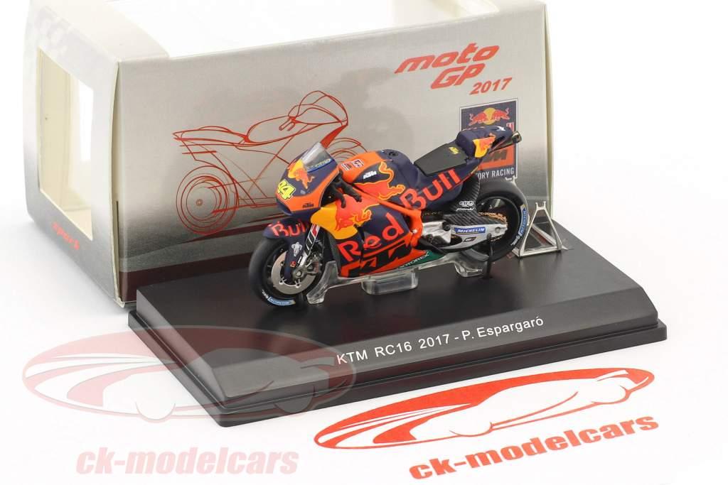 Pol Espargaro KTM RC16 #44 MotoGP 2017 1:43 Spark