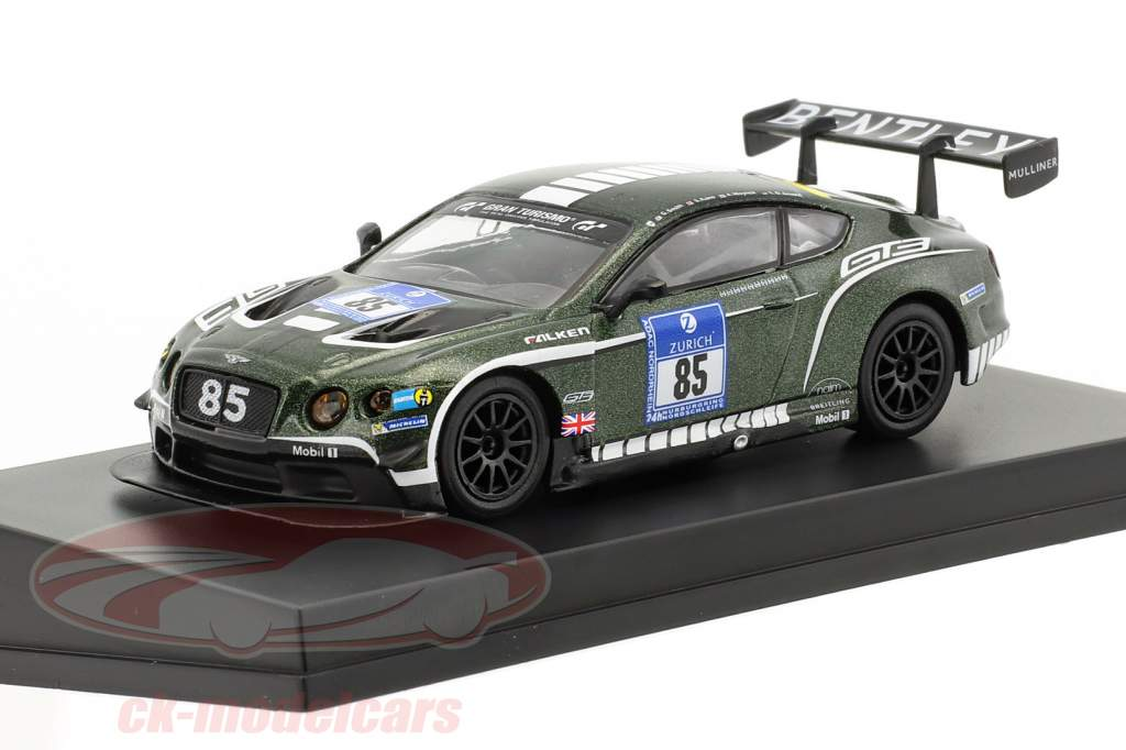 Bentley Continental GT3 #85 24h Nürburgring 2015 Bentley Motors Ltd 1:64 Spark