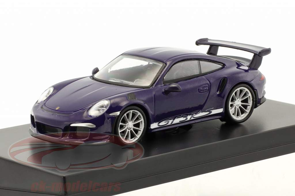 Porsche 911 (991) GT3 RS année de construction 2016 ultra violet 1:64 Spark