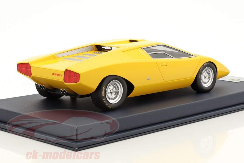 Looksmart 1 18 Lamborghini Countach Lp 500 Prototype Geel Met
