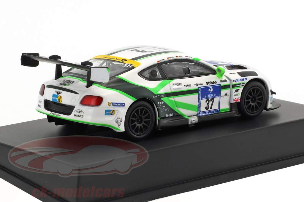 Bentley Continental GT3 #37 24h Nürburgring 2016 Bentley Team Abt 1:64 Spark