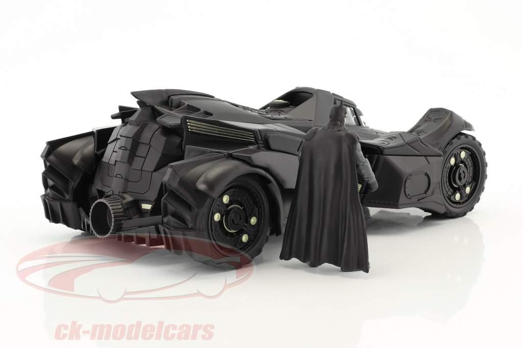 Batmobile Arkham Knight (2015) mit Figur Batman schwarz 1:24 Jada Toys