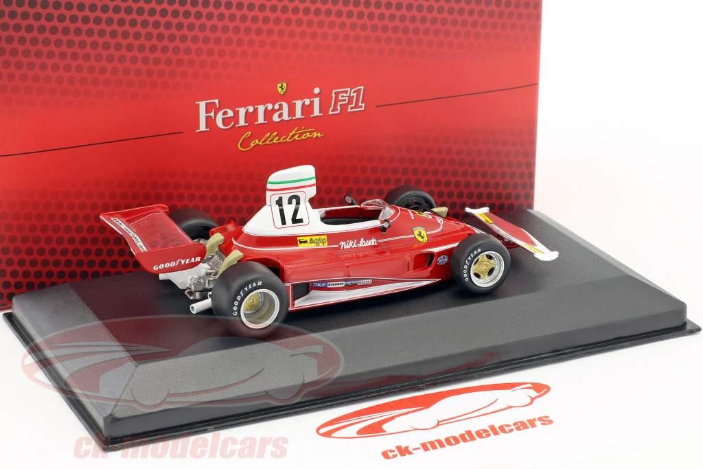 Niki Lauda Ferrari 312T #12 champion du monde formule 1 1975 1:43 Atlas