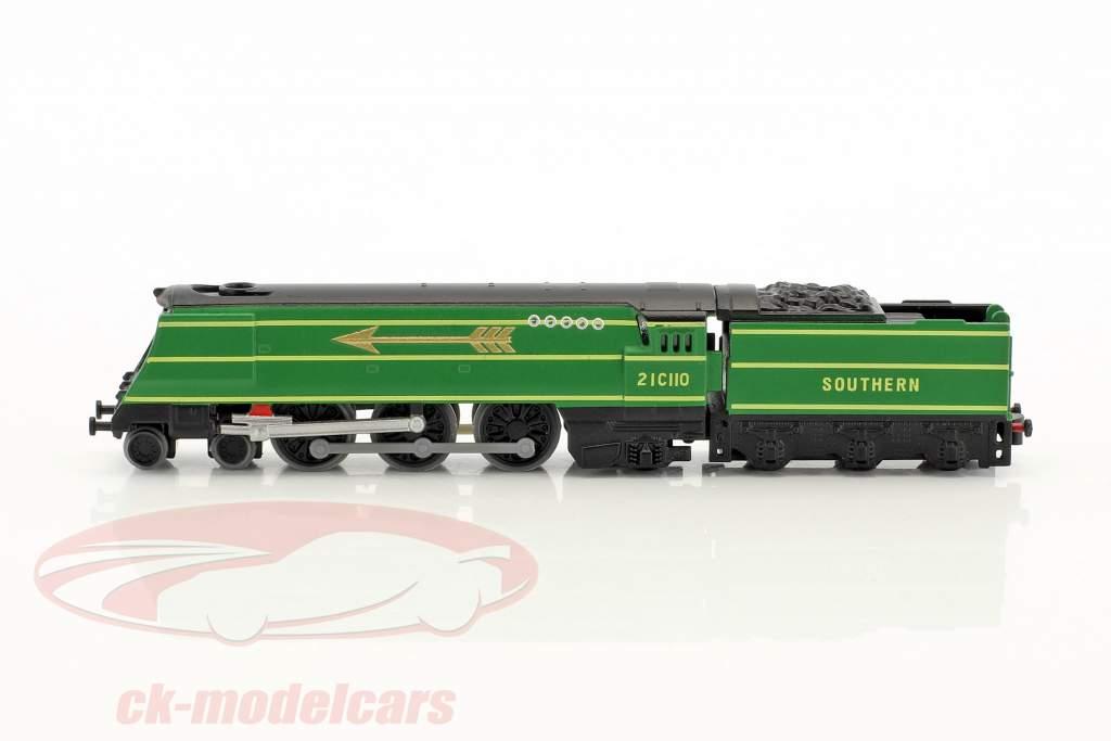 GOLDEN ARROW train avec piste vert / brun / blanc 1:220 Atlas