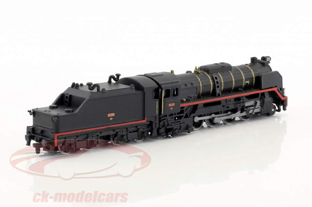 MIKADO 141 RENFE Zug mit Gleis schwarz / braun / weiß 1:220 Atlas