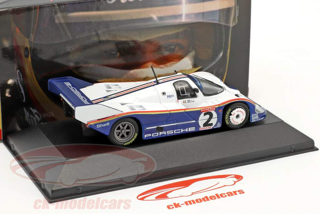 Porsche 956K #2 vencedor 1000km Silverstone 1983 Bellof, Bell 1:43 CMR