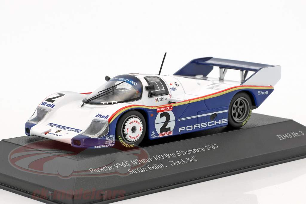Porsche 956K #2 Winner 1000km Silverstone 1983 Bellof, Bell 1:43 CMR