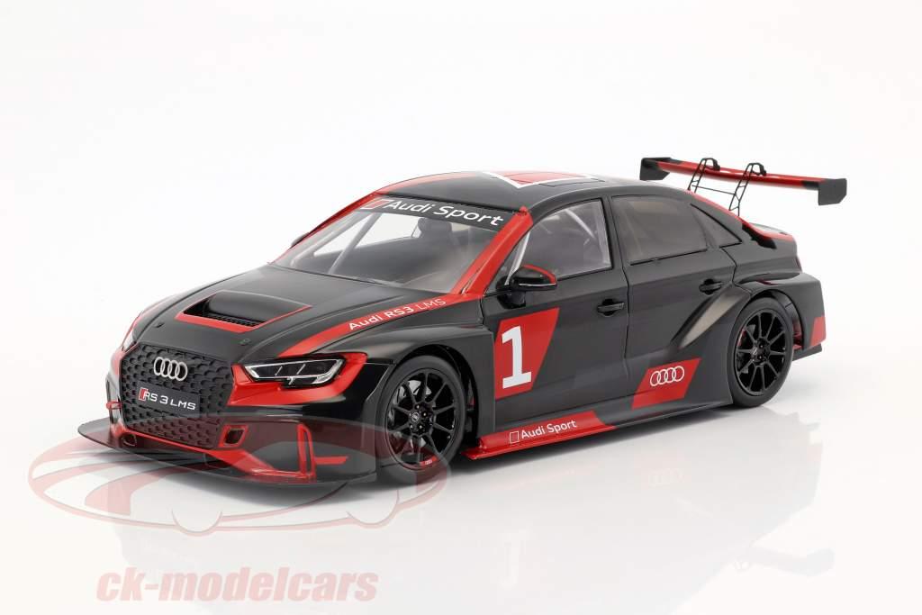 Audi RS 3 LMS #1 présentation année de construction 2017 Warpaint 1:18 Spark