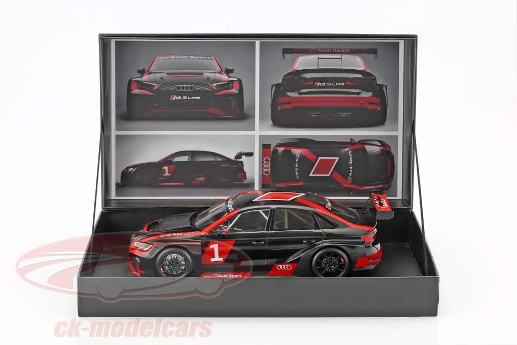 Audi RS 3 LMS #1 Präsentation Baujahr 2017 warpaint 1:18 Spark