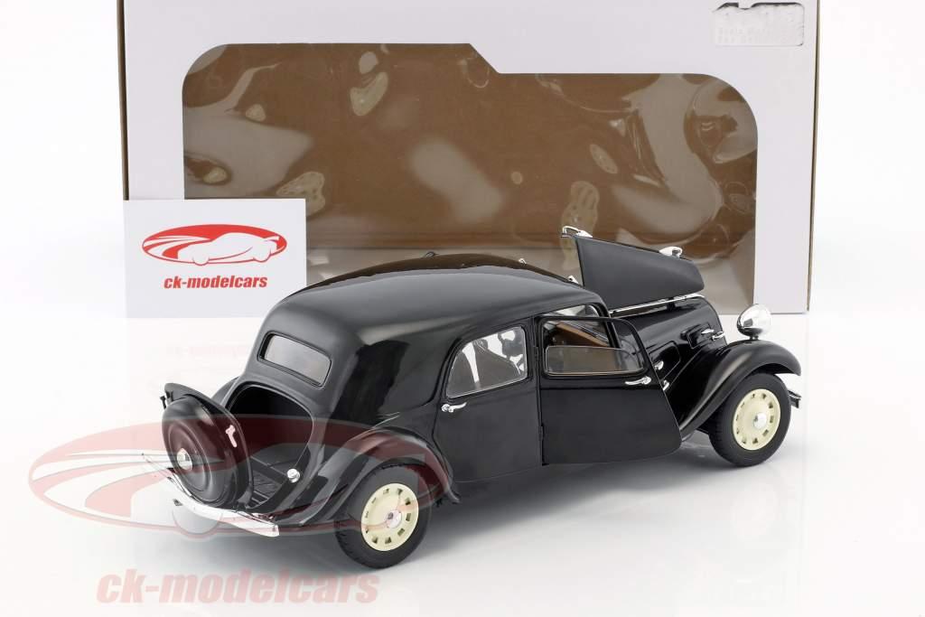 Citroen Traction 11CV anno di costruzione 1937 nero 1:18 Solido