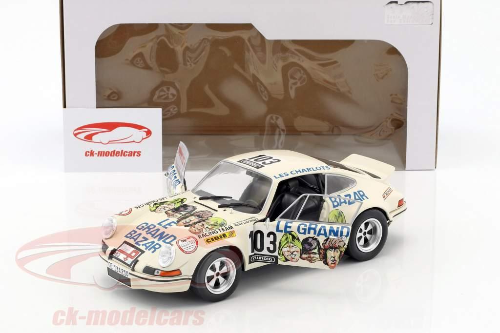 Porsche 911 RSR Le Grand Bazar #103 Rallye Tour de France 1973 Bayard, Ligonnet 1:18 Solido