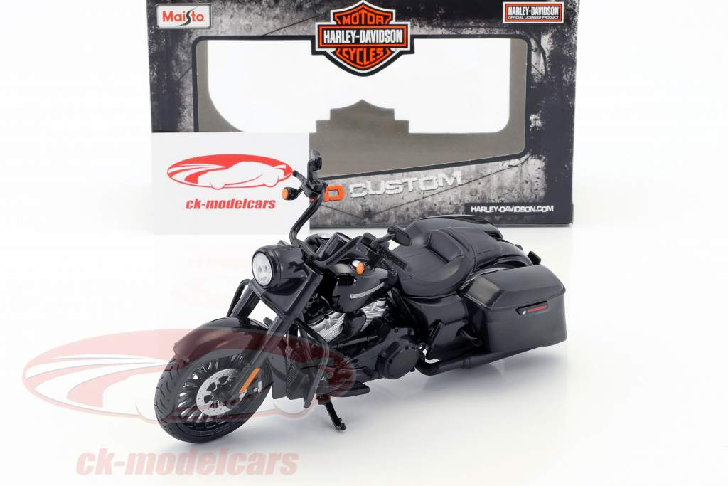 Harley-Davidson Road King Special Bouwjaar 2017 zwart 1:12 Maisto