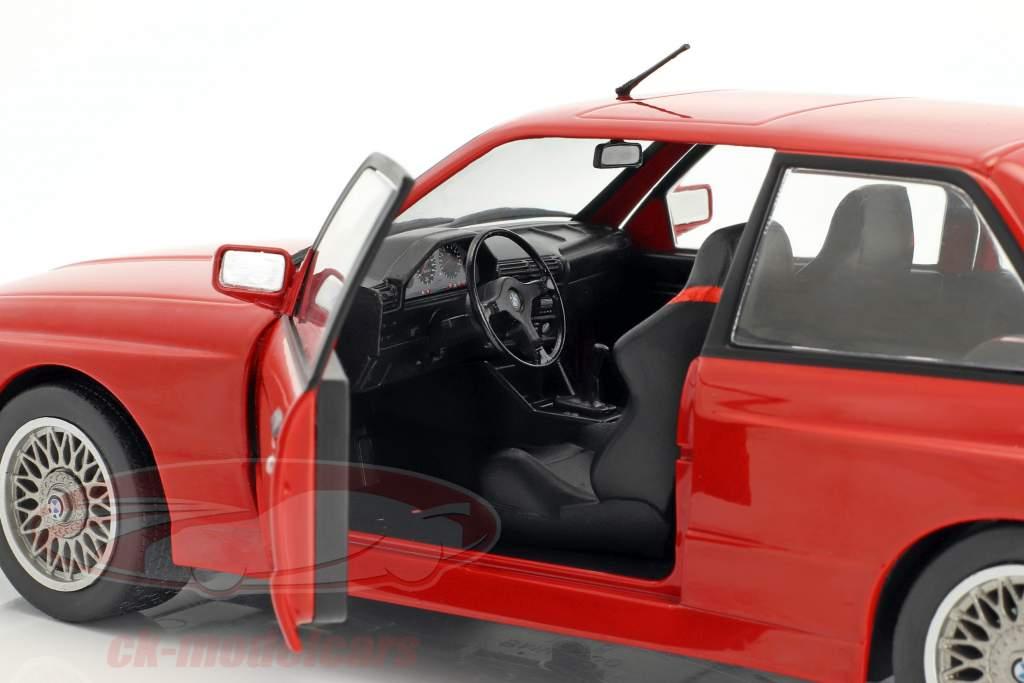 BMW M3 E30 año de construcción 1986 rojo 1:18 Solido