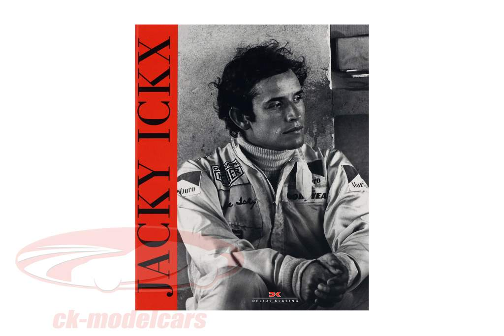 Book: Jacky Ickx - The authorized biography from P. van Vliet Delius Klasing
