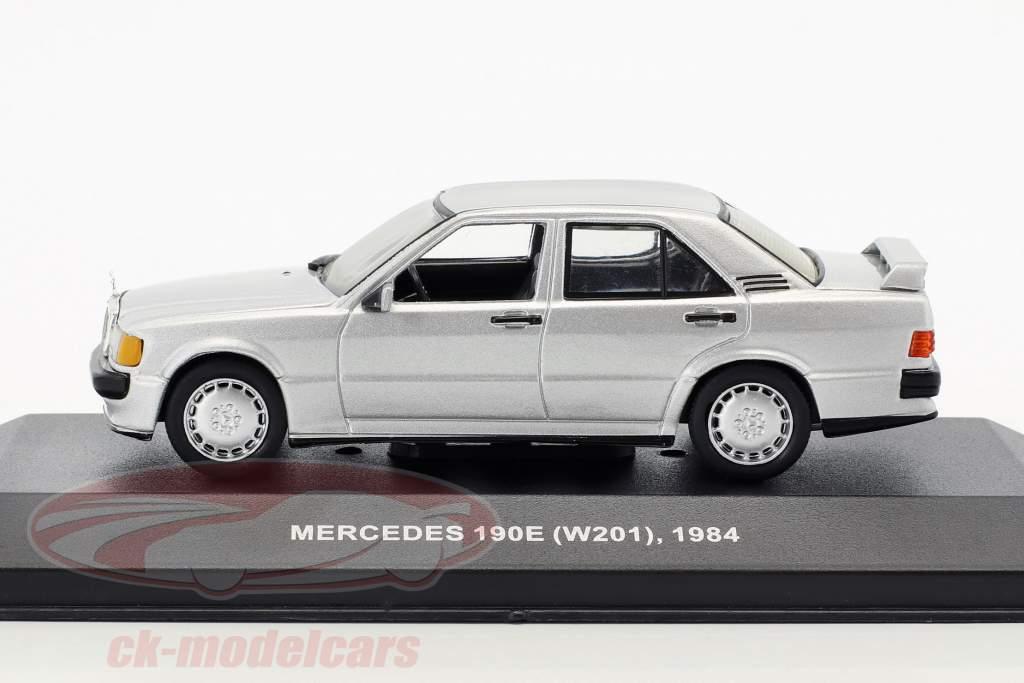 Mercedes-Benz 190E (W201) year 1984 silver metallic 1:43 Solido
