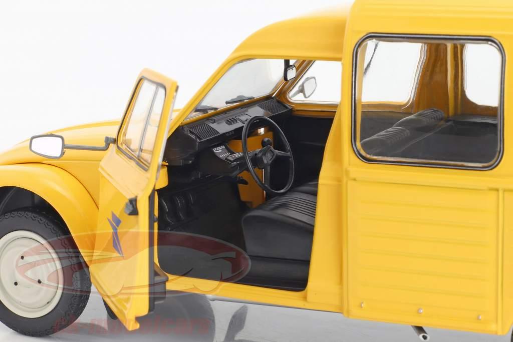 Citroen Acadiane La Poste Baujahr 1984 gelb 1:18 Solido