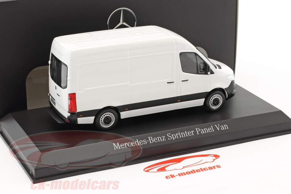 Mercedes-Benz sprinter panel van artic white 1:43 Norev