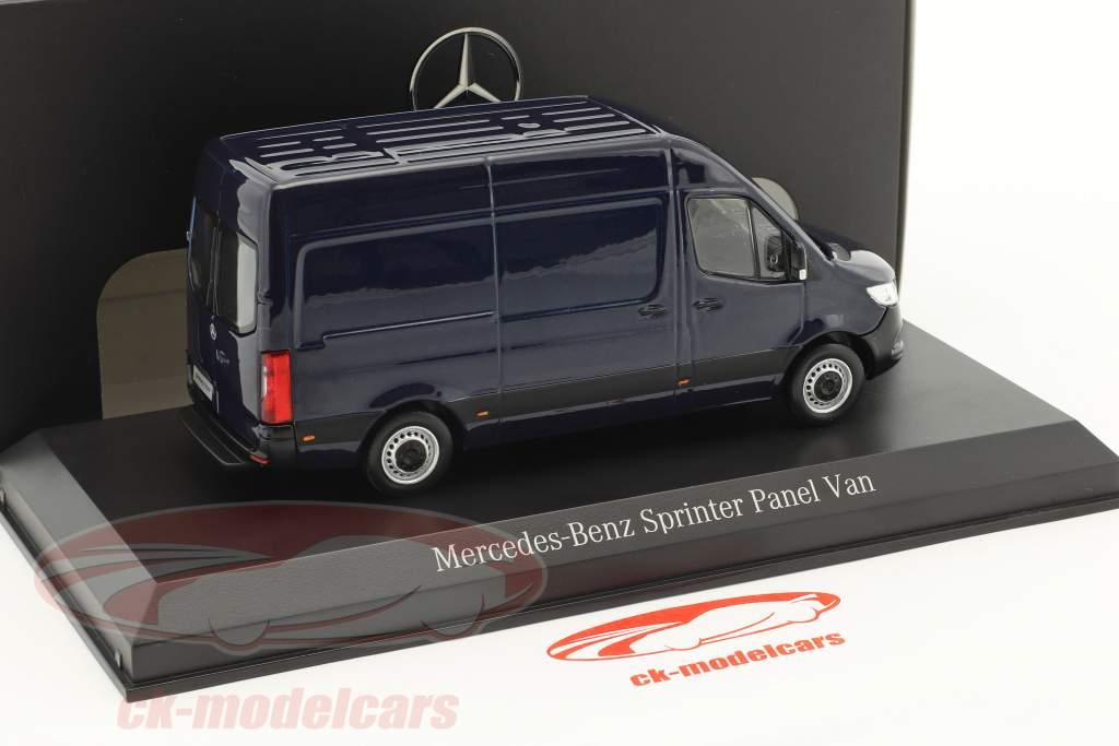 Mercedes-Benz sprinter panneau van cavansite bleu métallique 1:43 Norev