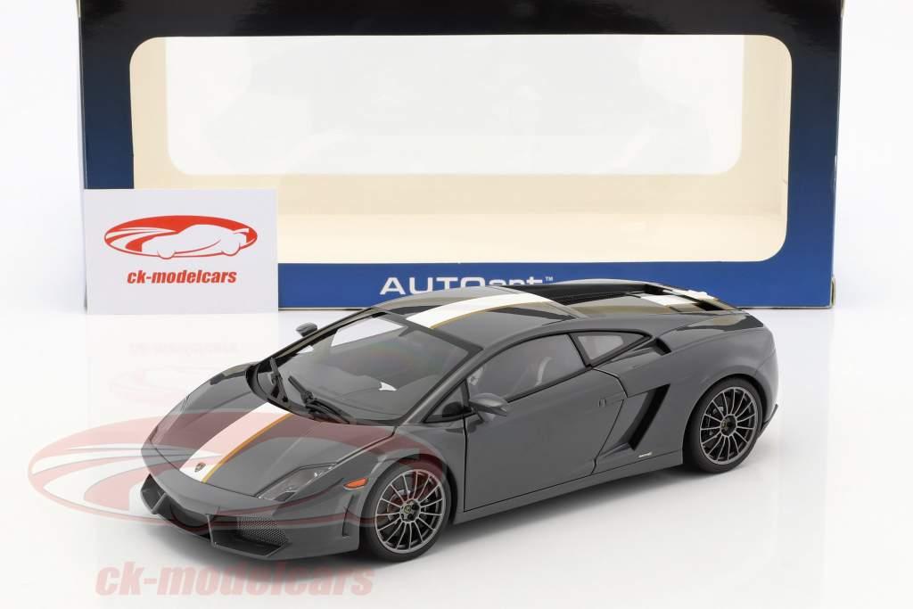 Lamborghini Gallardo LP550-2 Valentino Balboni Edition grau 1:18 AUTOart