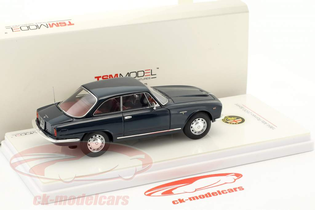 Alfa Romeo 2600 Sprint Baujahr 1964 blau 1:43 TrueScale