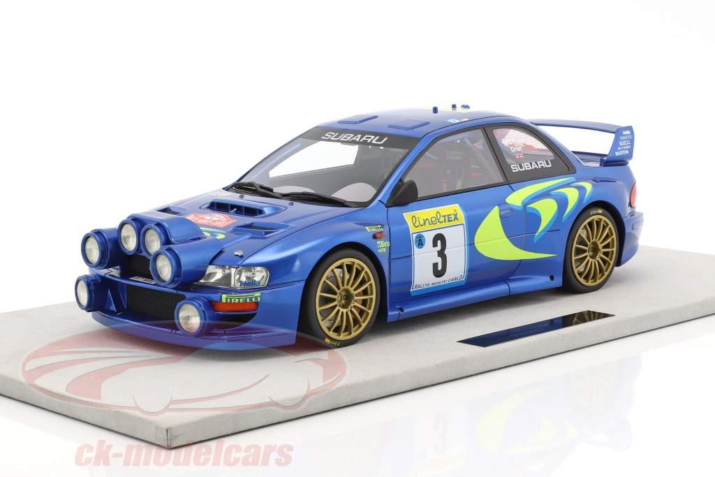 Subaru Impreza S4 WRC #3 3rd Rallye Monte Carlo 1998 McRae, Grist 1:12 TopMarques