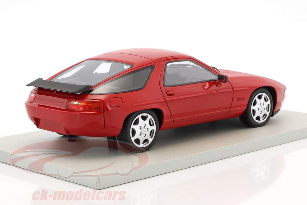 Porsche 928 S4 Club Sport year 1988 red 1:18 LS Collectibles