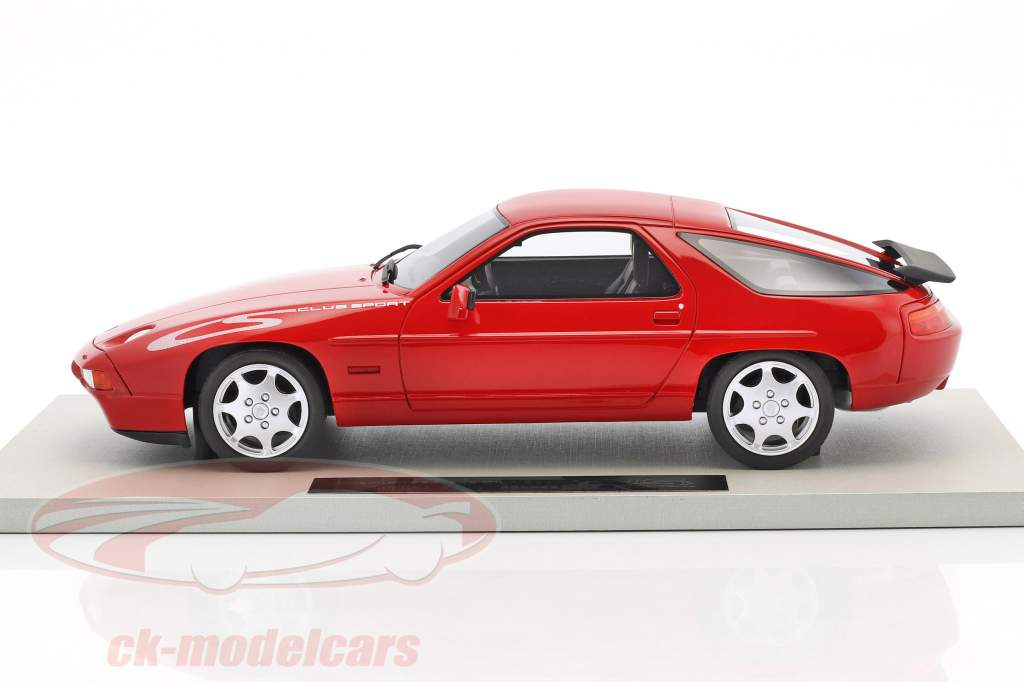 Porsche 928 S4 Club Sport année de construction 1988 rouge 1:18 LS Collectibles