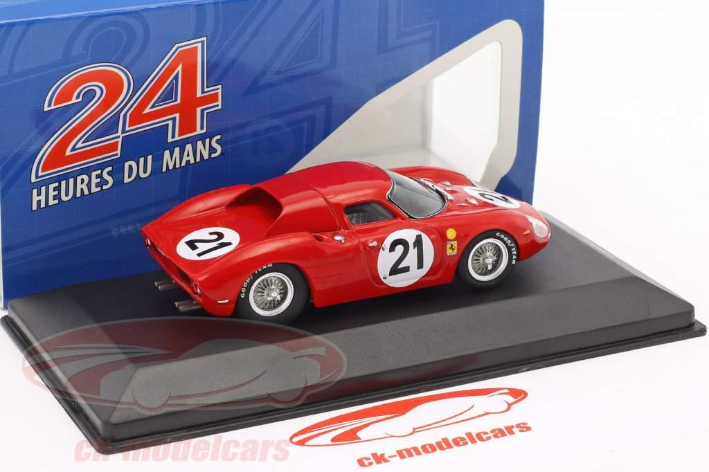 Ferrari 275 LM #21 Gregory, Rindt winnaar 24h LeMans 1965 1:43 Ixo