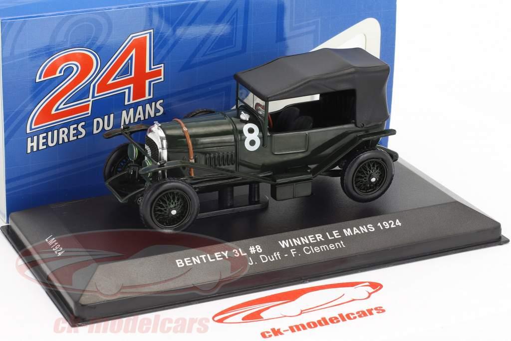 Bentley 3L #8 Winner 24h LeMans 1924 Duff, Clement 1:43 Ixo