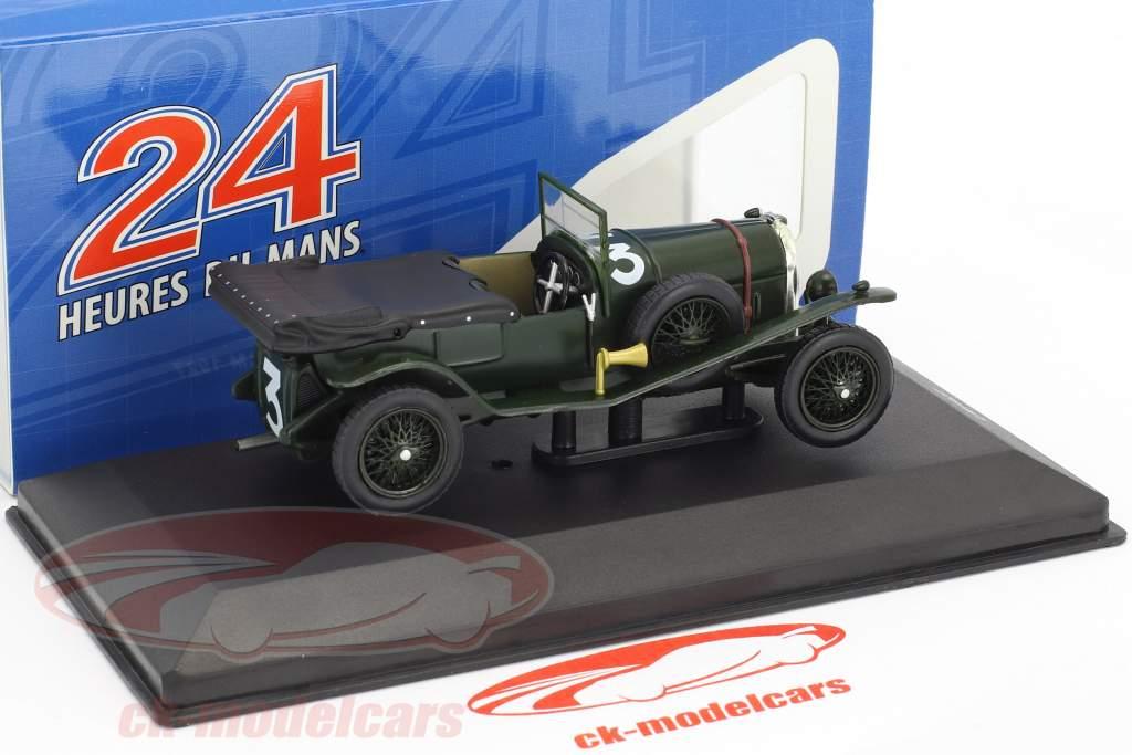 Bentley Sport 3.0 Litre #3 vincitore 24h LeMans 1927 Davis, Benjafield 1:43 Ixo