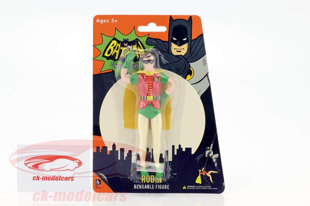 Robin curvabile cifra Classic TV Series Batman (1966) 5,5 inch NJCroce